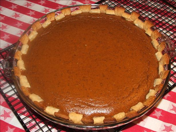 Kelly's Pumpkin Pie. Photo by Wildflour