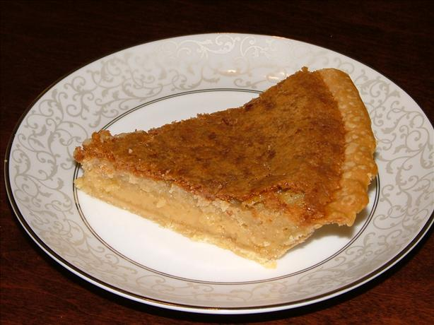 Old-timey Kentucky Chess Pie. Photo by LizzieBug