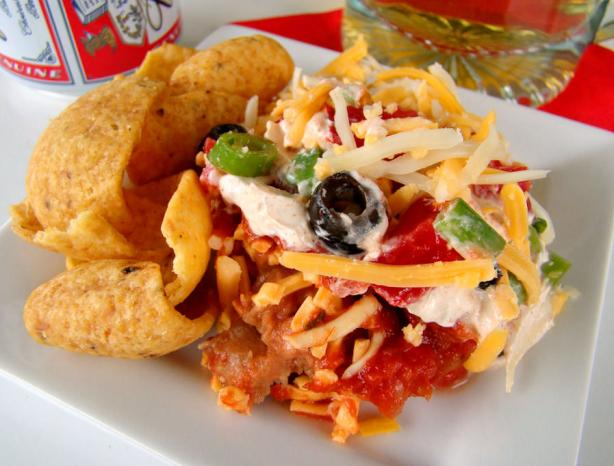 Layered Mexican Dip. Photo by Marg (CaymanDesigns)
