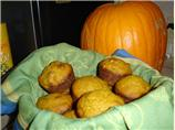 Pumpkin Walnut Muffins. Photo by Carianne