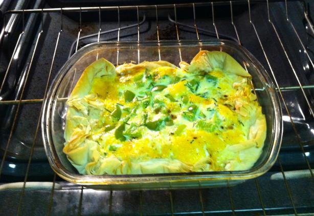 Easy Breakfast Egg Casserole. Photo by Anderson.sara