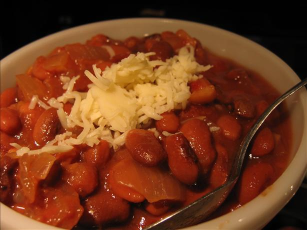 Mexican Red Beans (Crock Pot). Photo by Annisette