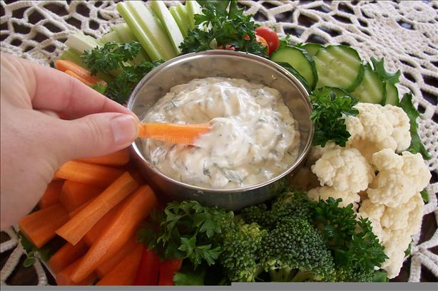 Veggie/Vegetable Dip. Photo by um-um-good