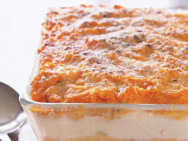 Mashed White/Sweet Potato Bake. Photo by Breakstone