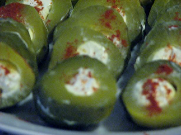 Stuffed Dill Pickles. Photo by Bonnie G #2