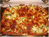 Zucchini and Summer Squash Gratin With Parmesan and Fresh Thyme