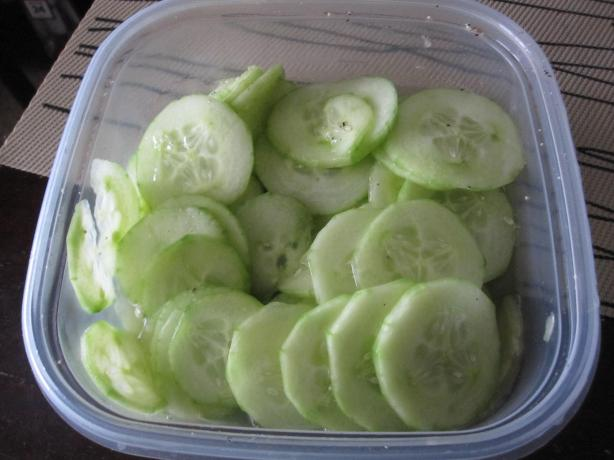 Simple Cucumbers. Photo by Katanashrp
