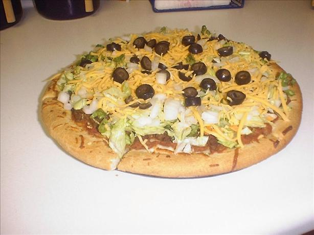 Easy Taco Pizza. Photo by TheShields