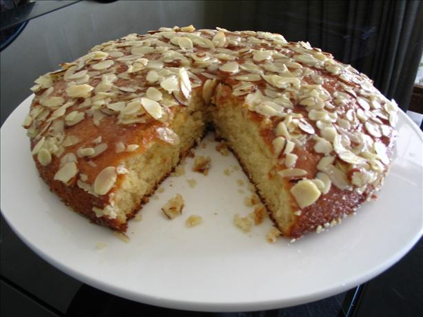 Buttered Almond Cake. Photo by Evie*