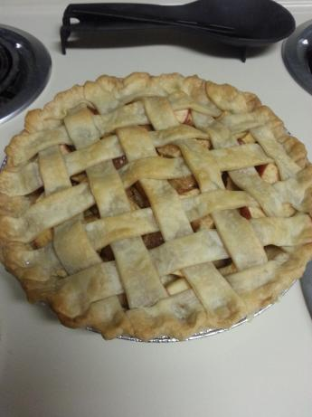 Lattice-crust Apple Pie. Photo by mis liz