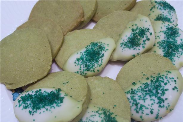 Green Tea Shortbread Cookies. Photo by HeatherFeather