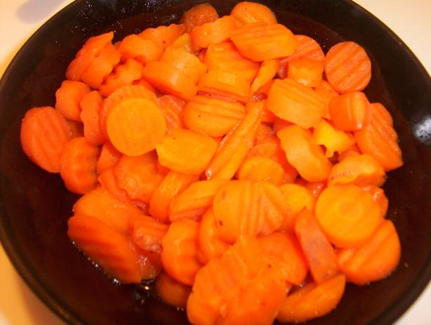 Glazed Carrots. Photo by DarksLight
