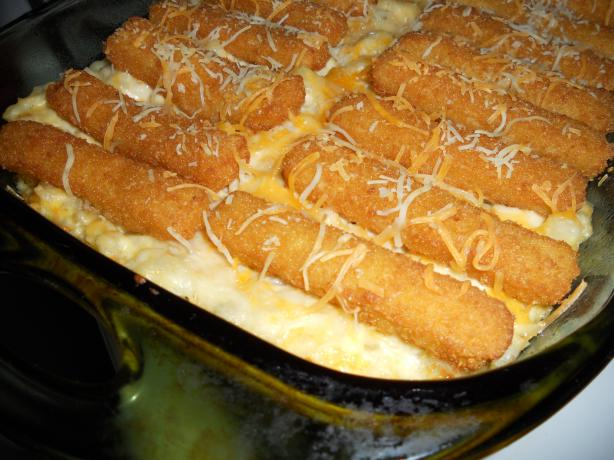 """it's a Keeper!"" Fish Stick Casserole. Photo by True Texas"
