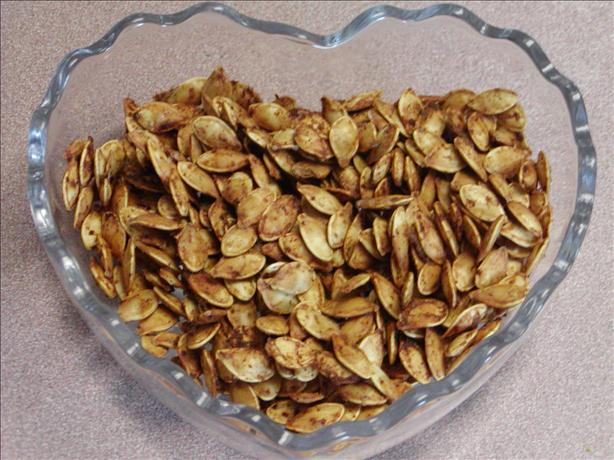 Roasted Pumpkin Seeds With a Kick from Kim!. Photo by Rita~