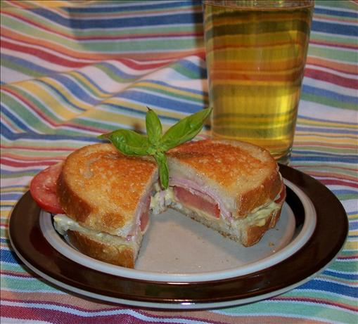 Crusty Grilled Ham and Cheese Sandwiches. Photo by Hey Jude
