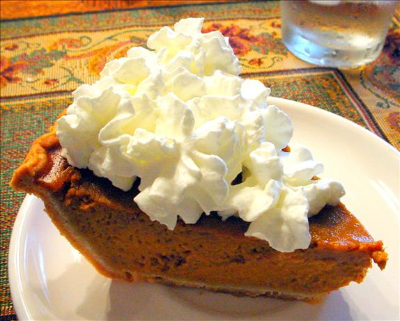 Opal's Pumpkin Pie. Photo by strphanie