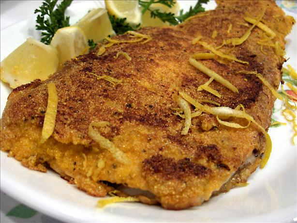 Cornmeal Breaded Trout. Photo by Derf