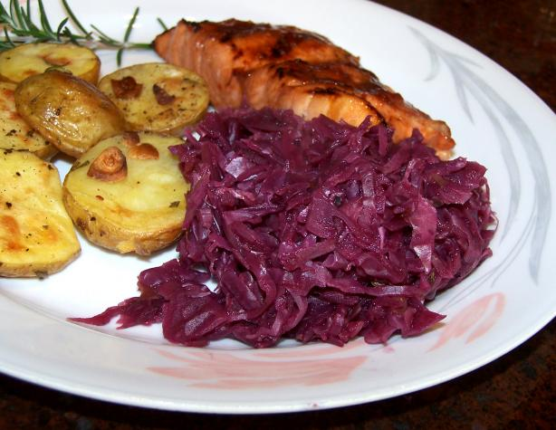Red Cabbage and Apples. Photo by Rita~