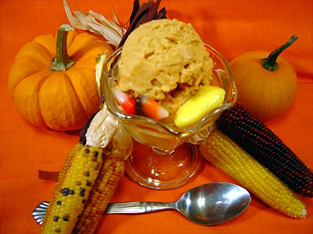 Pumpkin Ice Cream. Photo by :(
