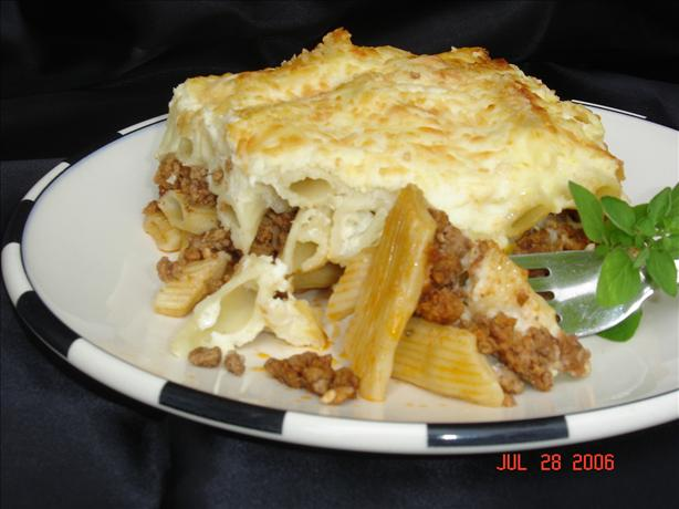 Pastitsio - Greek Lasagna. Photo by lets.eat