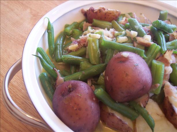 Dee's Green Beans in Crock Pot. Photo by Gr8full One