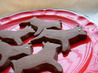 Chocolate Shortbread X-Mas Trees