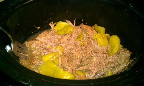 Crock Pot Pepperoncini Beef Roast. Photo by 20MinutesOrLessChef