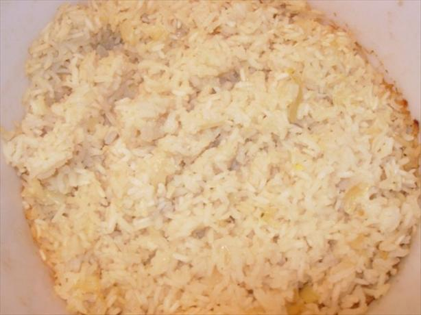 Baked Garlic Rice Pilaf. Photo by Loves2Teach