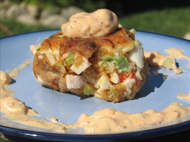 Crab Cakes With Chipotle Peppers. Photo by Charmie777