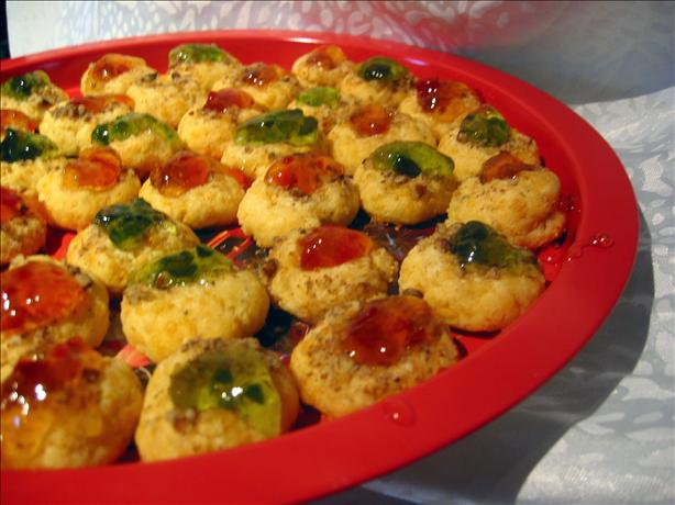 Thumbprint Cookies (savory Cheddar). Photo by Chef Dee