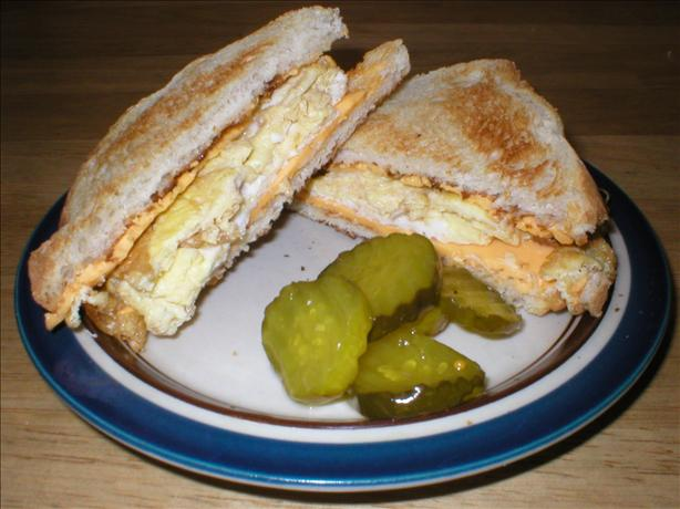 Midnight Eggs and Cheese Sandwich. Photo by Bill Hilbrich
