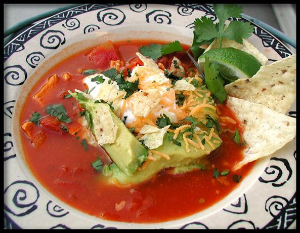 The Best Chicken Tortilla Soup. Photo by Sandi (From CA)