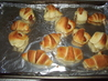 Feather Crescent Rolls. Recipe by Childrens Minister
