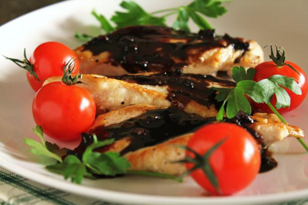 Balsamic Chicken. Photo by Delicious as it Looks