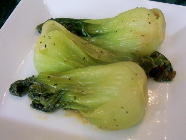 Baby Bok Choy With Garlic. Photo by *Parsley*