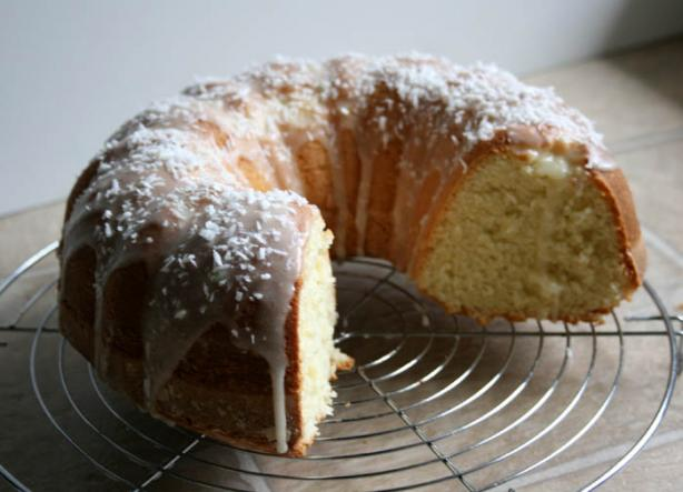 Coconut Bundt Cake With Powdered-Sugar Glaze. Photo by lilsweetie