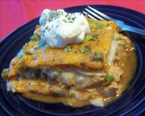 Cheese Enchilada Stack. Photo by *Parsley*