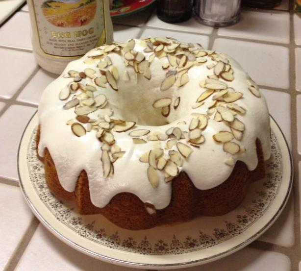 Eggnog Bundt Cake. Photo by dallison6