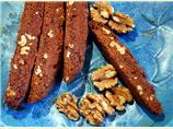 Barb's Chocolate Walnut Biscotti