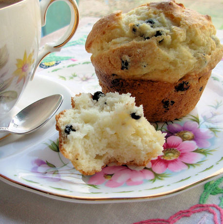 Melt in Your Mouth Blueberry Muffins. Photo by French Tart
