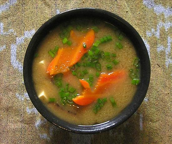 Miso Soup With Shiitake Mushrooms and Tofu. Photo by Jenny Sanders