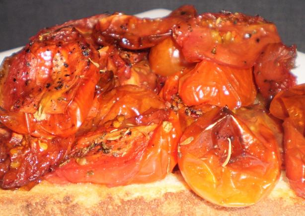 Port Roasted Tomatoes. Photo by Tisme