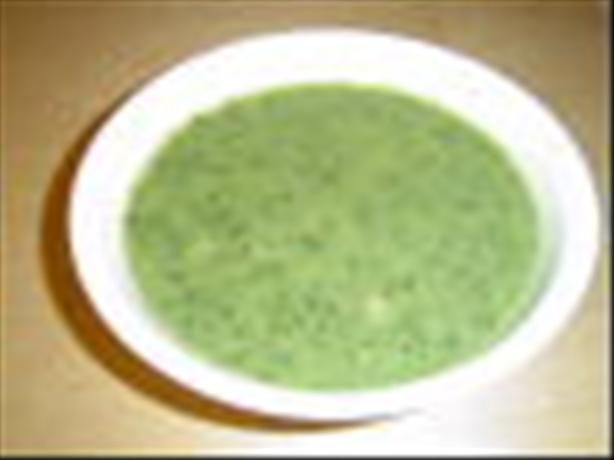 Coco - Banana's Creamless Cream of Butter Bean and Herb Soup. Photo by Coco - Banana