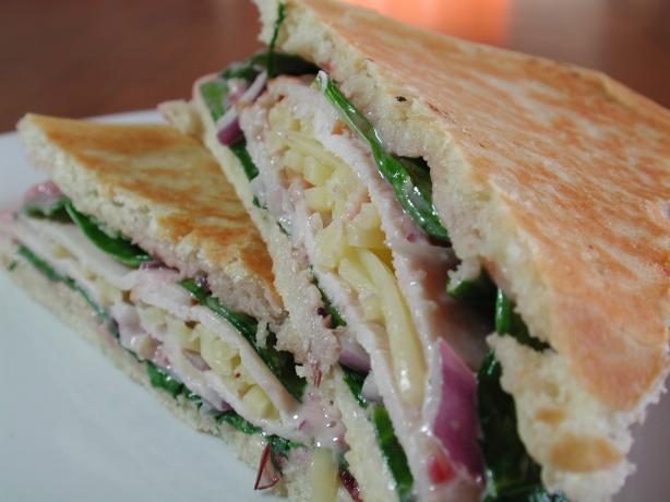 Turkey and Cranberry Panini. Photo by Chef floWer