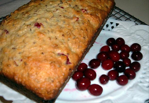 Apple Cranberry Nut Loaf. Photo by newspapergal