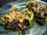 Fiesta Vegetable Stuffed Bell Peppers