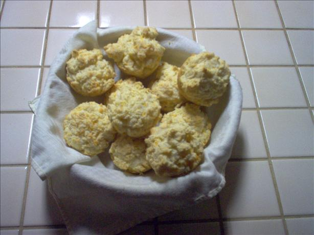 Cheesy Buttermilk Drop Biscuits. Photo by Dorel