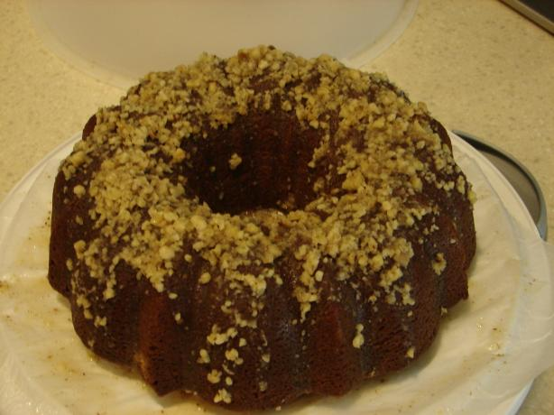 Eggnog Rum Bundt Cake. Photo by Big Kahuna in Alaska
