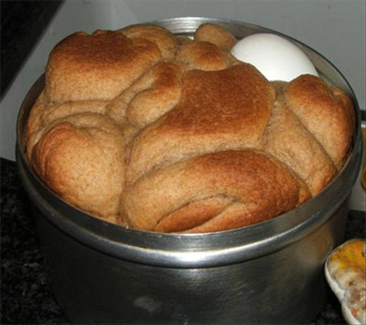 Shabbat Breakfast Bread (Kubaneh). Photo by basya