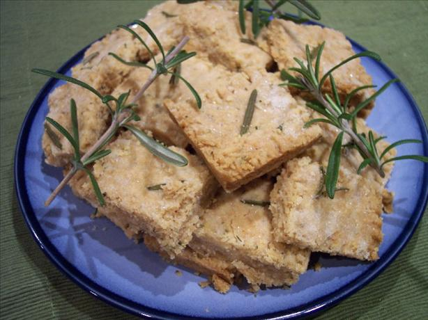 Rosemary Shortbread. Photo by s'kat